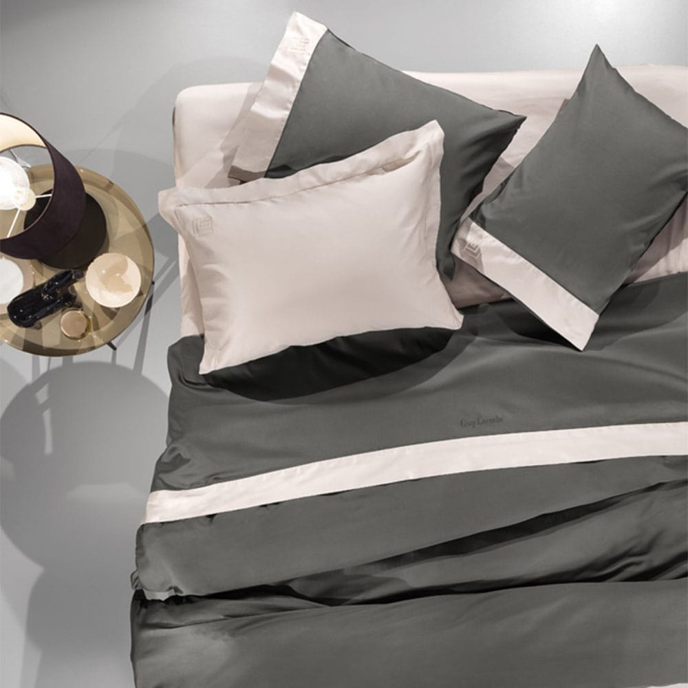 Σεντόνια Silky Σετ 4Τεμ. Anthracite Guy Laroche King Size 270x280cm