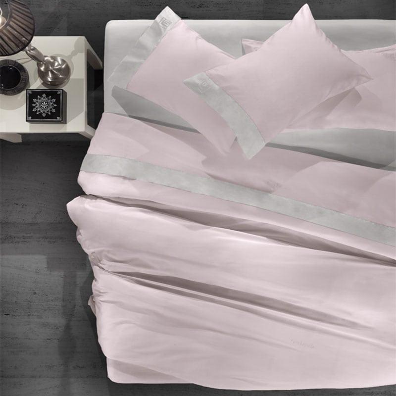 Σεντόνια Silky Σετ 4τμχ Melanze-Silver Guy Laroche King Size 270x280cm