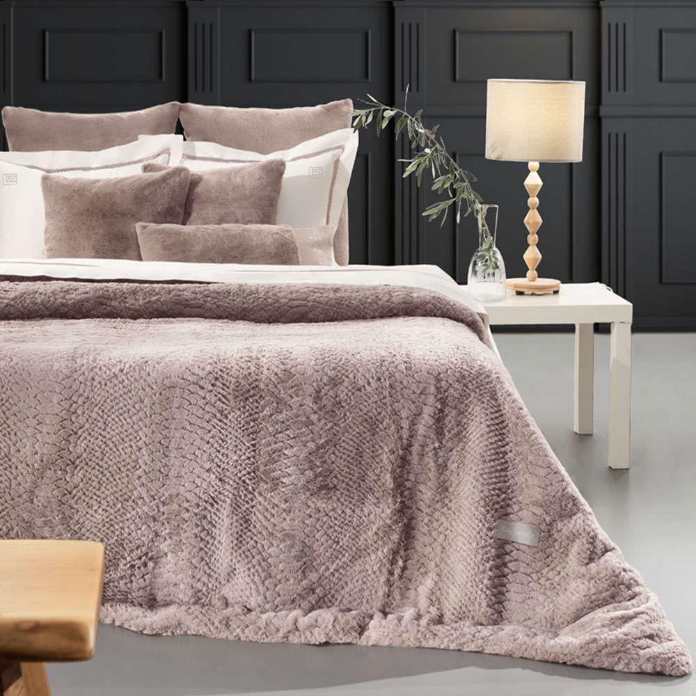 Κουβέρτα Crusty Old Pink Guy Laroche Υπέρδιπλo 220x240cm
