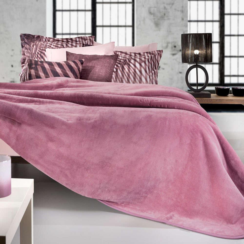 Κουβέρτα Smooth Opal Rose Guy Laroche Μονό 160x220cm