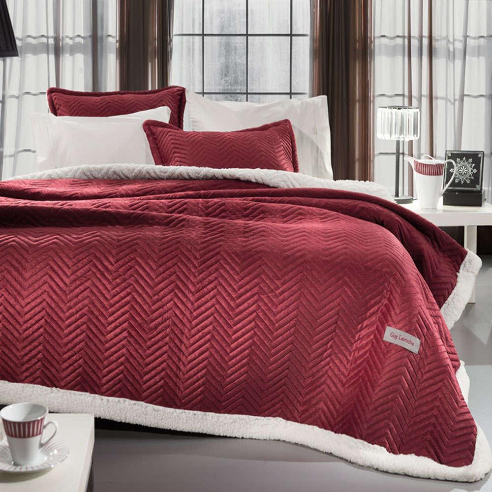 Κουβέρτα Velluto Rosso Guy Laroche Υπέρδιπλo 220x240cm