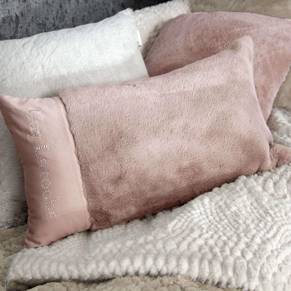 Μαξιλάρι Διακοσμητικό (Με Γέμιση) Crusty Old Pink Guy Laroche 30Χ50 100% Ακρυλικό