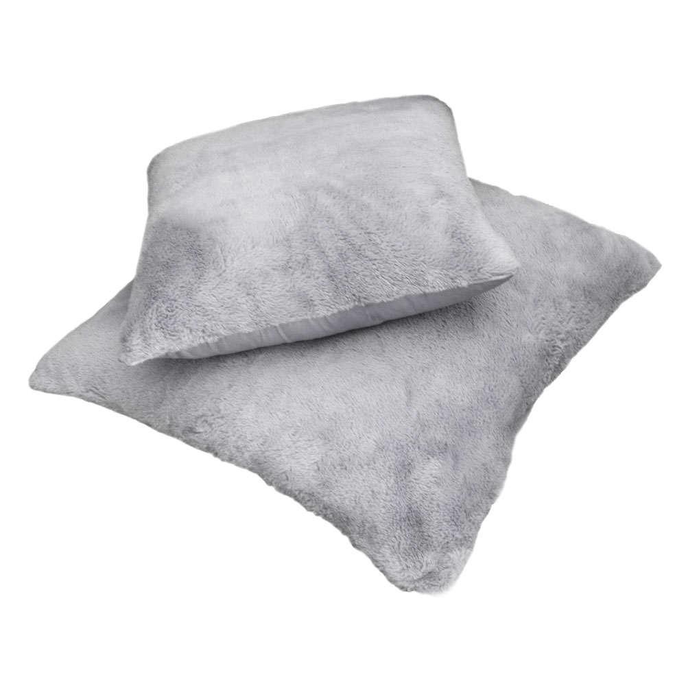 Μαξιλάρι Διακοσμητικό (Με Γέμιση) Crusty Silver Guy Laroche 60X60 100% Ακρυλικό