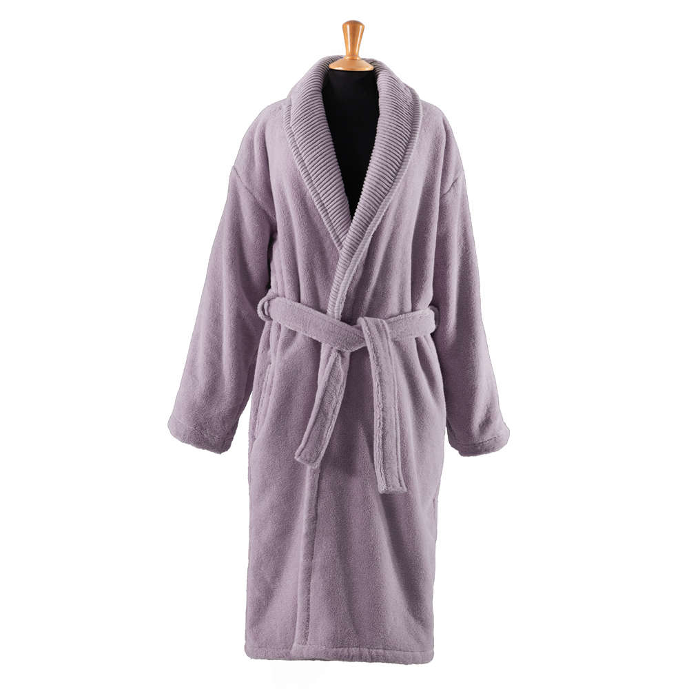 Μπουρνούζι Deluxe Spa Purple Guy Laroche Large L