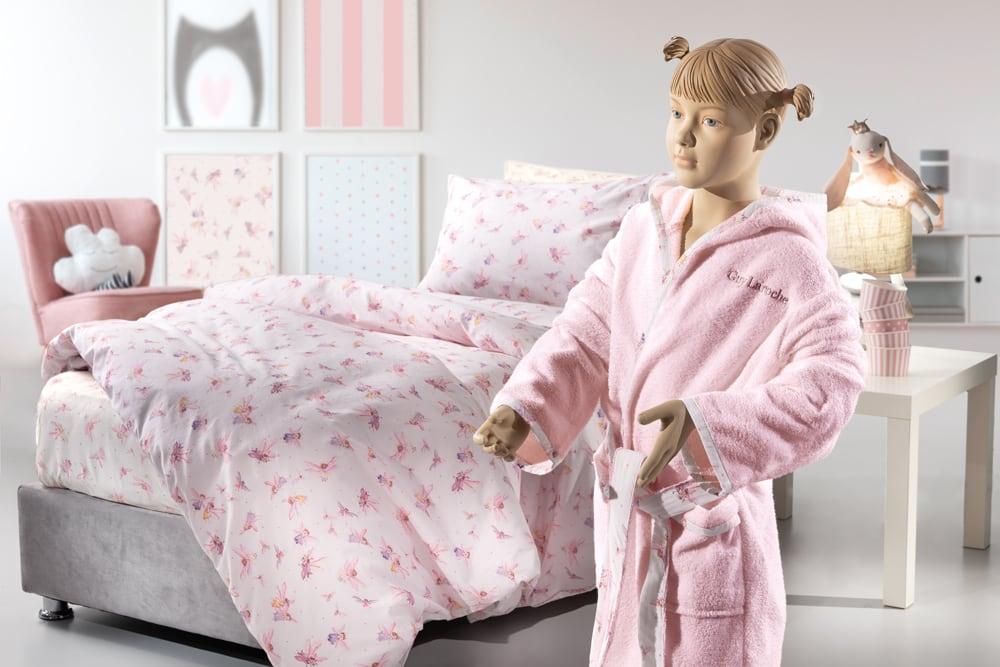 Μπουρνούζι Παιδικό Fairy Pink Guy Laroche 4-6 ετών No. 4-6