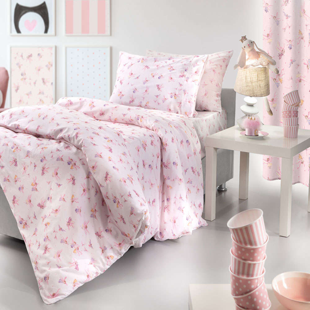 Πάπλωμα Παιδικό Fairy Pink Guy Laroche Μονό 160x220cm