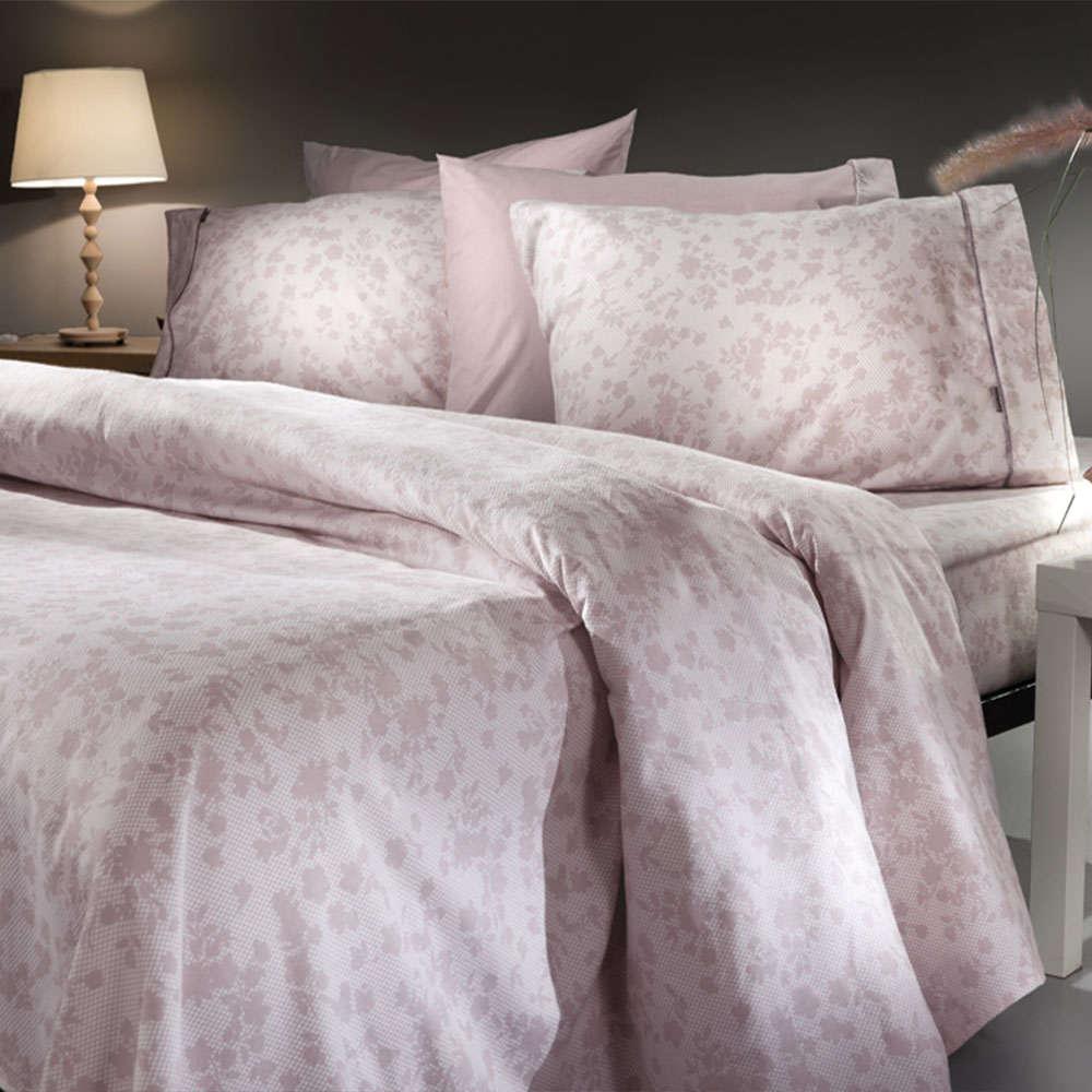 Σεντόνια Σετ 3τμχ Carna Flannel Pink Guy Laroche Μονό 170x265cm