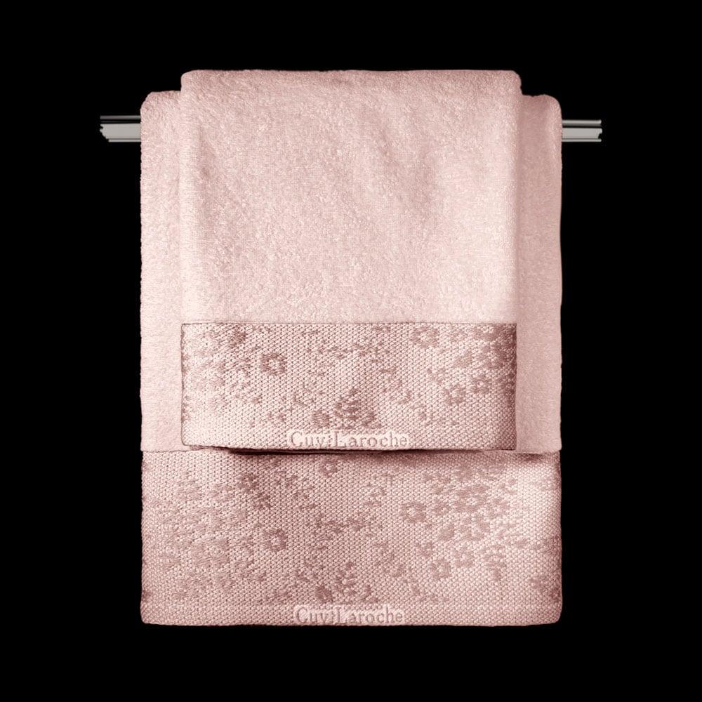 Πετσέτες Σετ 3τμχ Flotte Pink Guy Laroche Σετ Πετσέτες