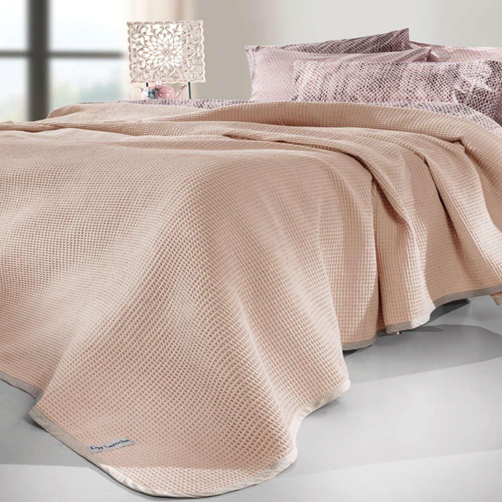 Κουβέρτα Just Pudra Guy Laroche Υπέρδιπλo 230x250cm