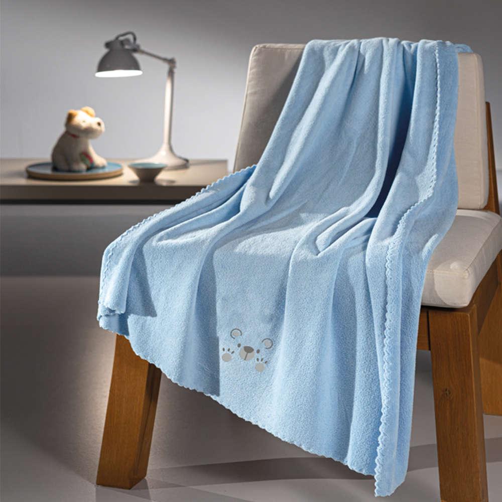 Κουβέρτα Βρεφική Baby Bear Ciel Guy Laroche Κούνιας 100x140cm