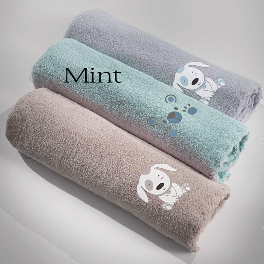 Κουβέρτα Βρεφική Baby Bear Mint Guy Laroche Κούνιας 100x140cm