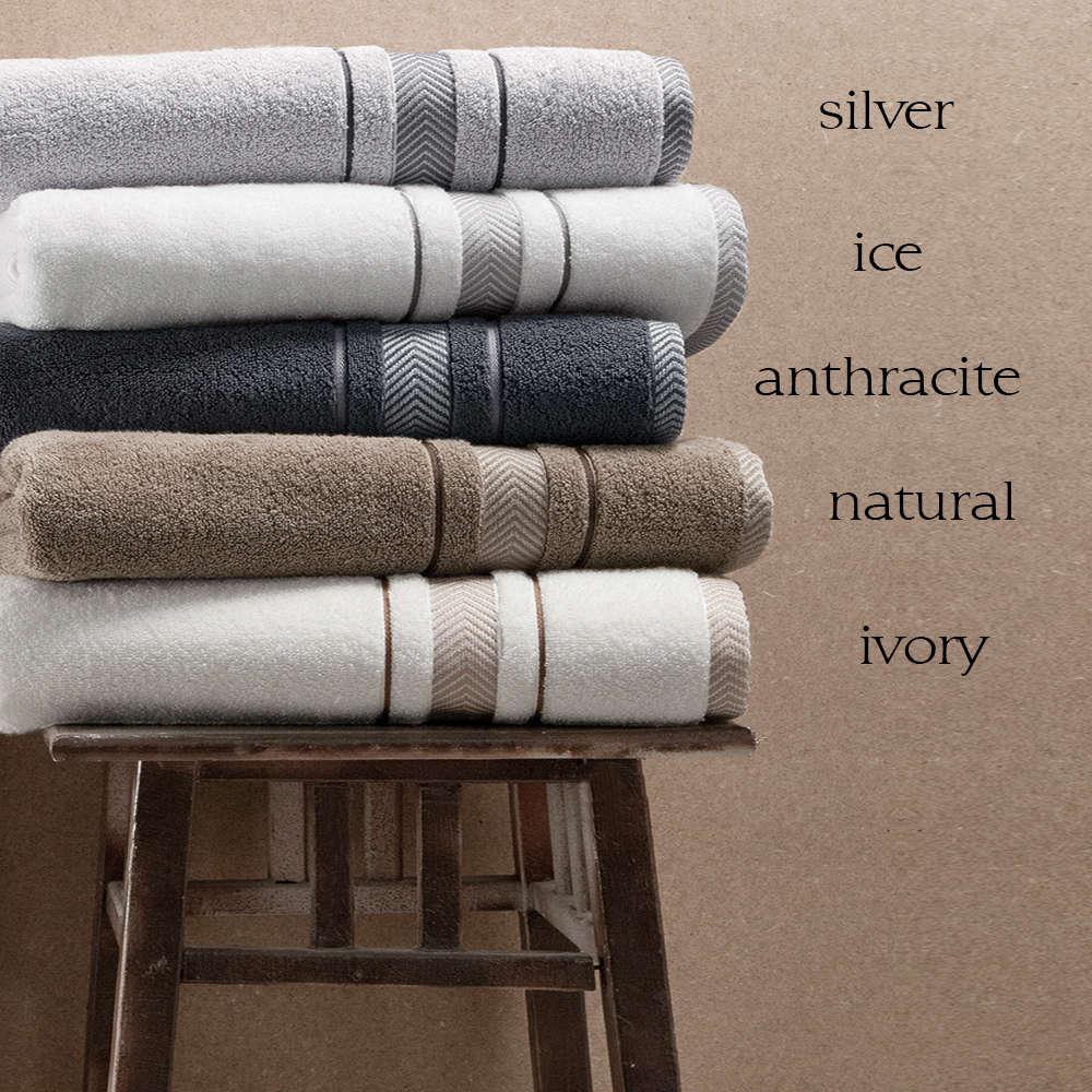 Πετσέτα Ava Ivory Guy Laroche Προσώπου 50x90cm