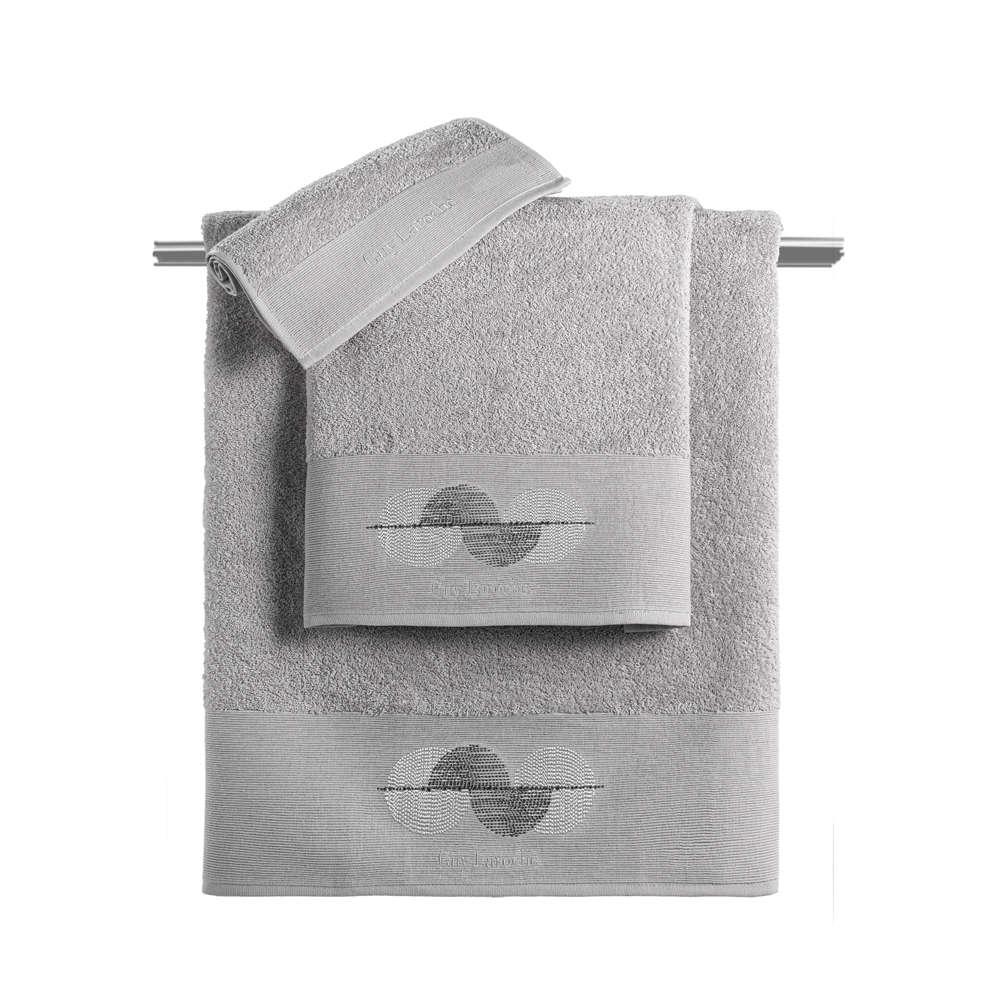 Πετσέτες Σετ 3τμχ Vento Silver Guy Laroche Σετ Πετσέτες