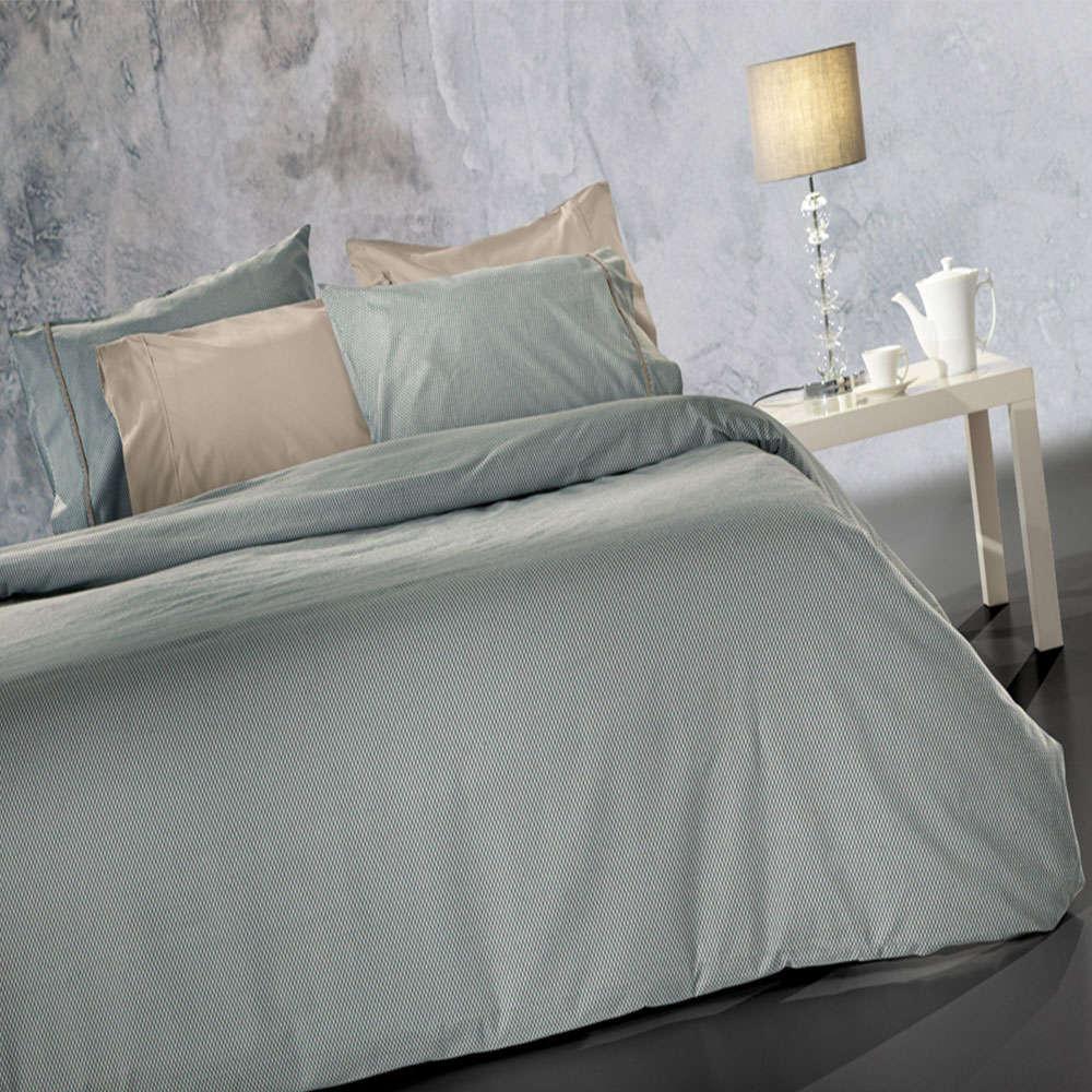 Σεντόνια Rythmos Flannel Σετ 4τμχ Grey-Beige Guy Laroche Υπέρδιπλo 240x265cm