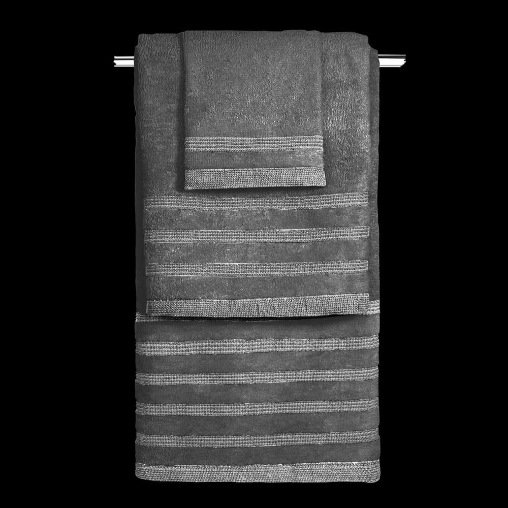 Πετσέτες Bellina Σετ 3τμχ Anthracite Guy Laroche Σετ Πετσέτες