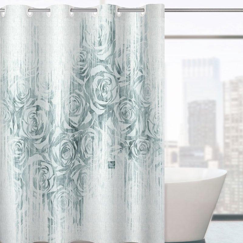 Κουρτίνα Μπάνιου Beatrice Aqua Guy Laroche Φάρδος 180cm