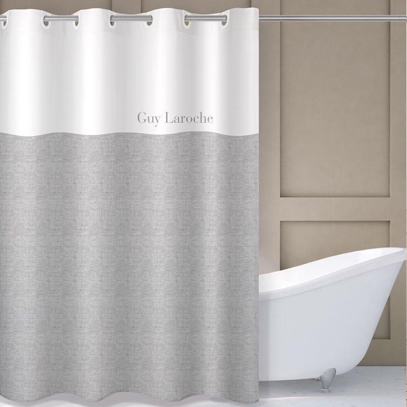 Κουρτίνα Μπάνιου Finesse Grey Guy Laroche Φάρδος 240cm