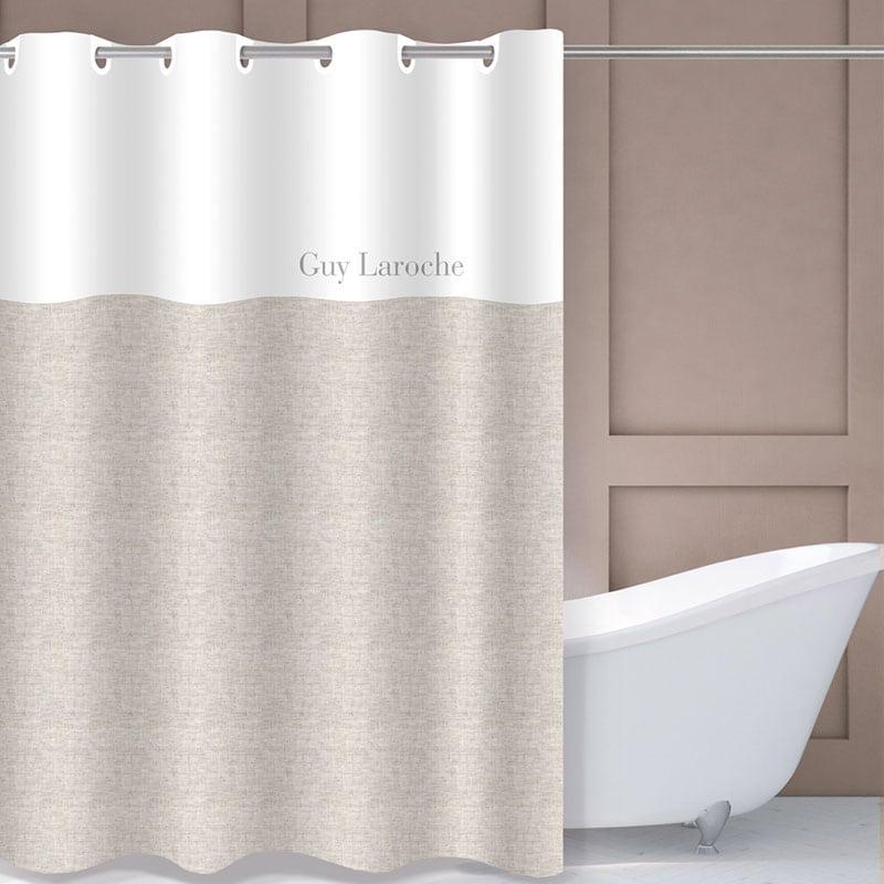 Κουρτίνα Μπάνιου Finesse Natural Guy Laroche Φάρδος 180cm