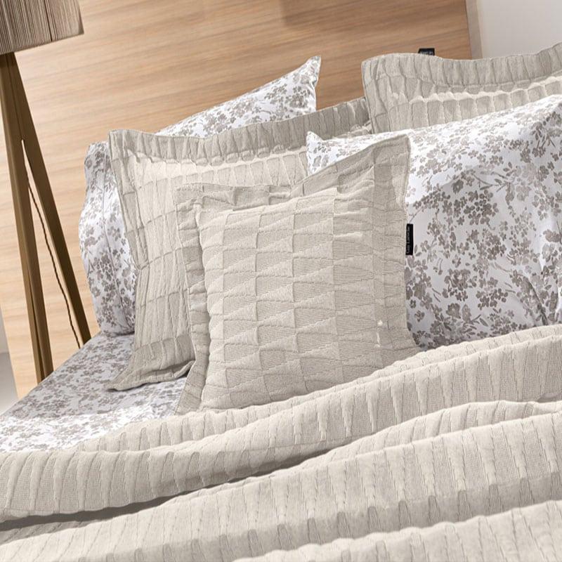 Μαξιλάρι Διακοσμητικό (Με Γέμιση) Palmyra Natural Guy Laroche 45X45 Βαμβάκι-Polyester