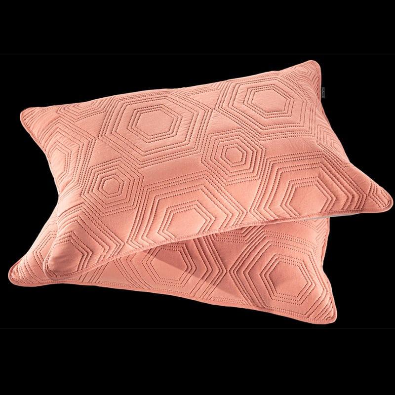 Μαξιλαροθήκες Lilly Σετ 2τμχ Coral Guy Laroche 50Χ70