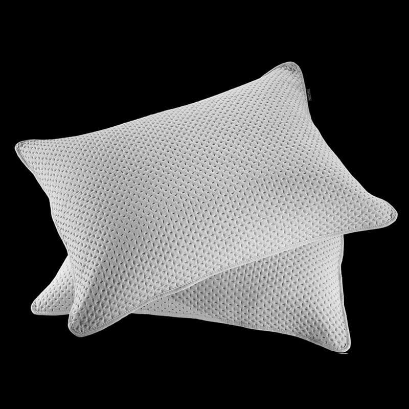 Μαξιλαροθήκες Riva Σετ 2τμχ Silver Guy Laroche 50Χ70