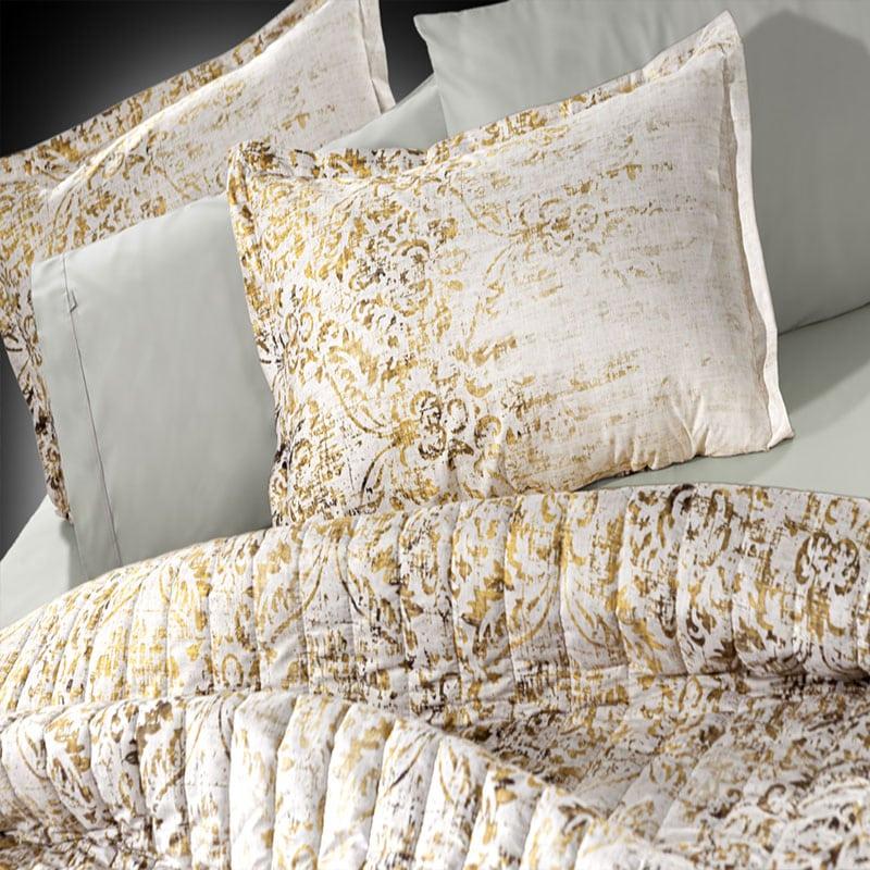 Μαξιλαροθήκες Rustique Σετ 2τμχ Gold Guy Laroche 50Χ70
