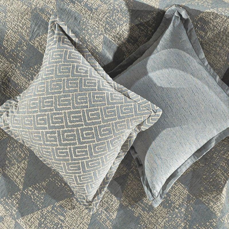 Μαξιλαροθήκη Διακοσμητική Bali Denim Guy Laroche 50X50 Βαμβάκι-Polyester