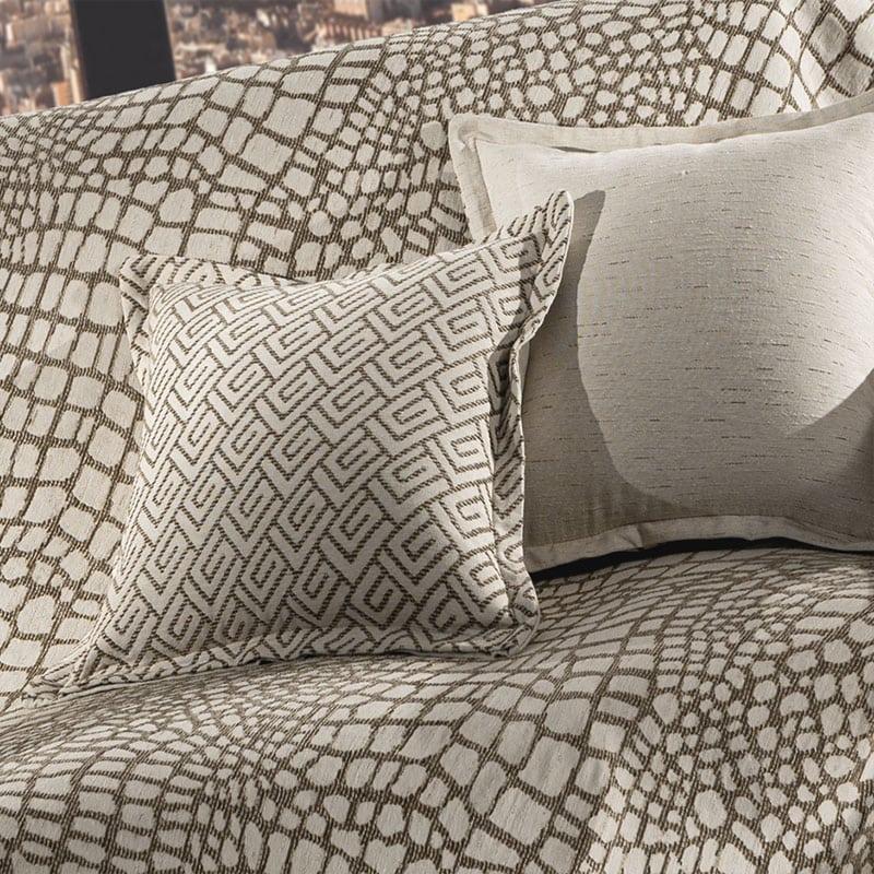 Μαξιλαροθήκη Διακοσμητική Bali Wenge Guy Laroche 50X50 Βαμβάκι-Polyester