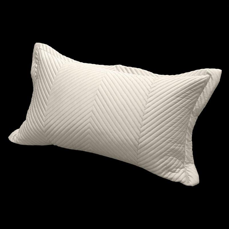 Μαξιλαροθήκη Διακοσμητική Δαπέδου Venere Sand Guy Laroche 60X60 100% Microsatin