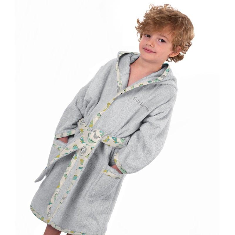 Μπουρνούζι Παιδικό Rex Grey Guy Laroche 4-6 ετών