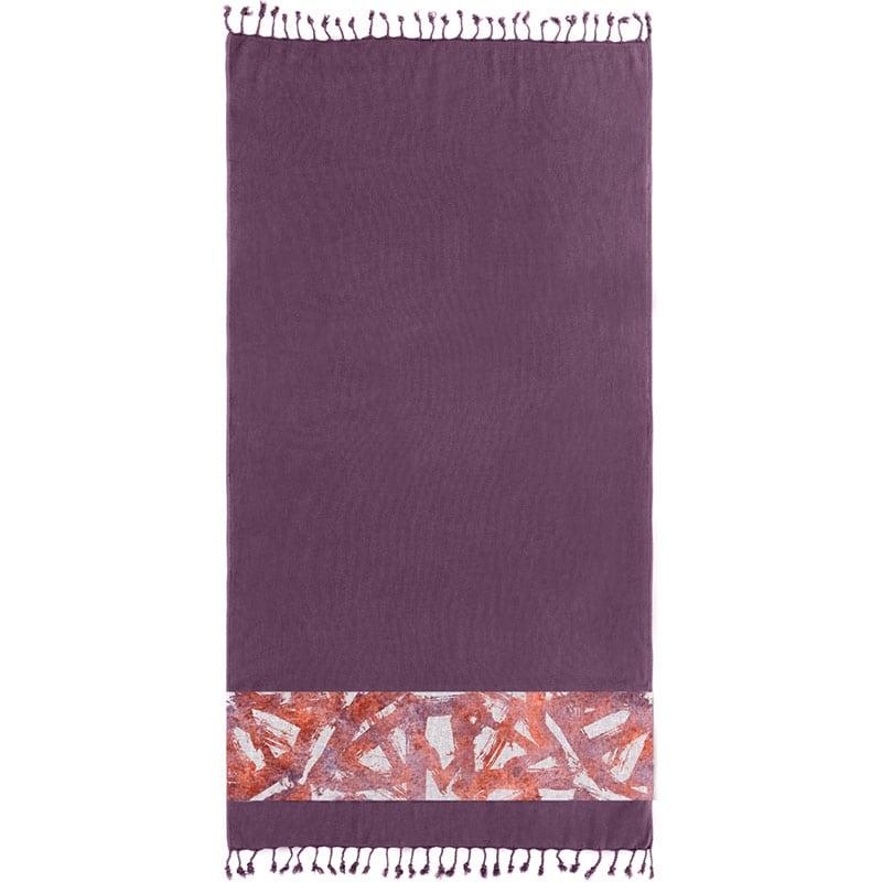 Πετσέτα Θαλάσσης Pestemal 13 Purple Guy Laroche Θαλάσσης