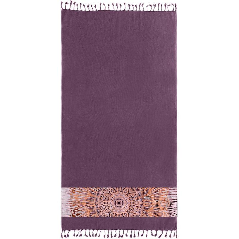 Πετσέτα Θαλάσσης Pestemal 14 Purple Guy Laroche Θαλάσσης