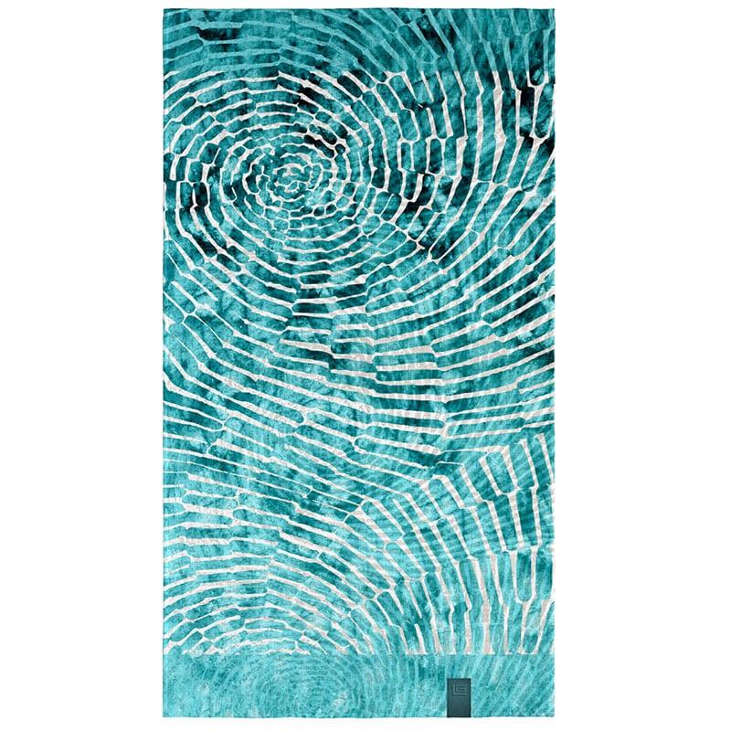 Πετσέτα Θαλάσσης Velour Printed 2102 Aqua Guy Laroche Θαλάσσης