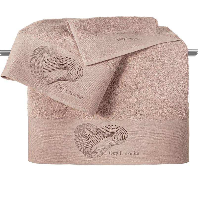 Πετσέτες Alora Σετ 3τμχ Old Pink Guy Laroche Σετ Πετσέτες