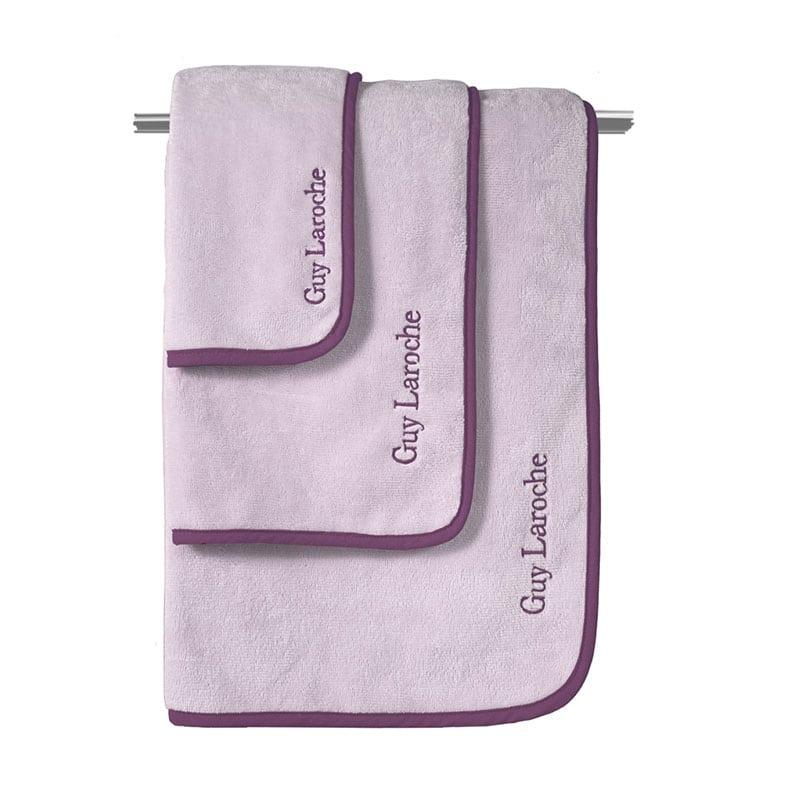 Πετσέτες Comfy Σετ 3τμχ Lilac Guy Laroche Σετ Πετσέτες