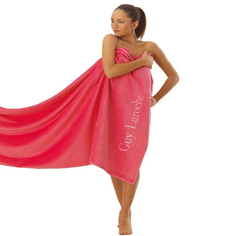 Πετσέτα Θαλάσσης Ocean Pink Guy Laroche Θαλάσσης