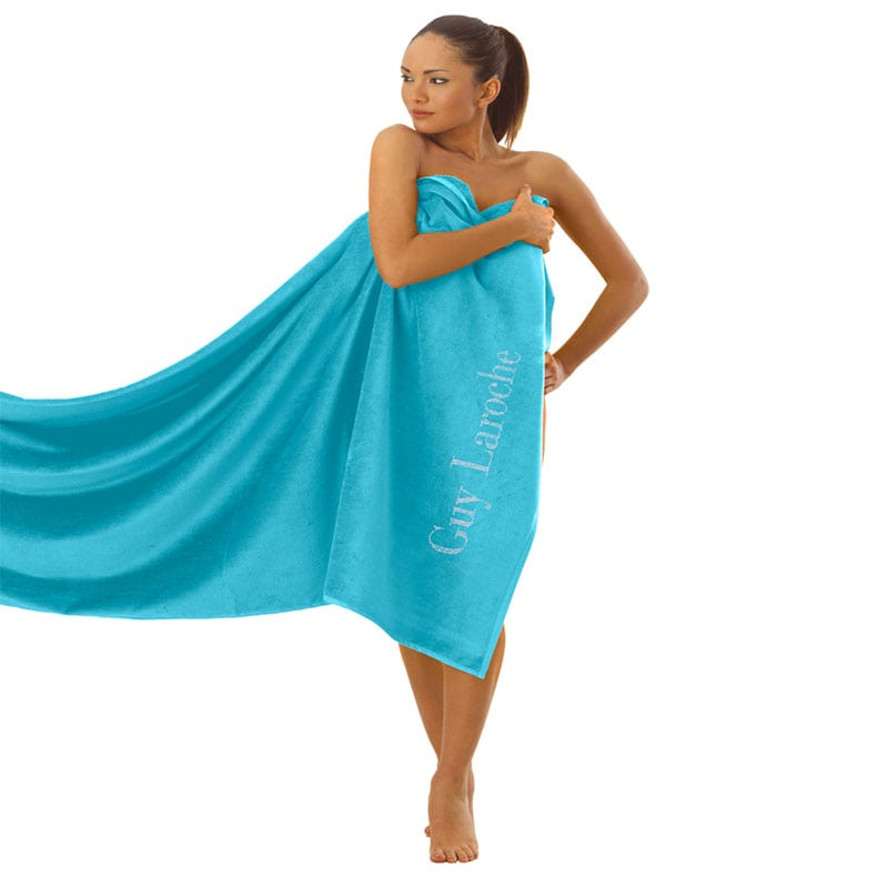 Πετσέτα Θαλάσσης Ocean Turquoise Guy Laroche Θαλάσσης