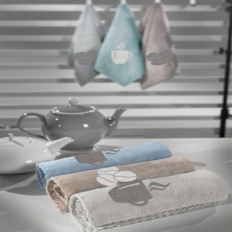 Πετσέτες Κουζίνας Gourmet 11 Σετ 3τμχ Multi Guy Laroche