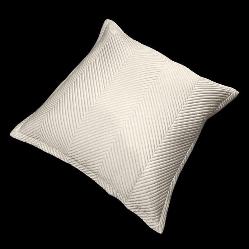Μαξιλαροθήκη Διακοσμητική Venere Sand Guy Laroche 60X60 100% Microsatin