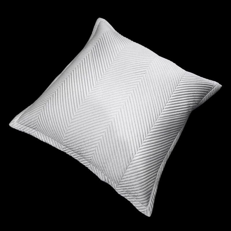 Μαξιλαροθήκη Διακοσμητική Venere Silver Guy Laroche 60X60 100% Microsatin