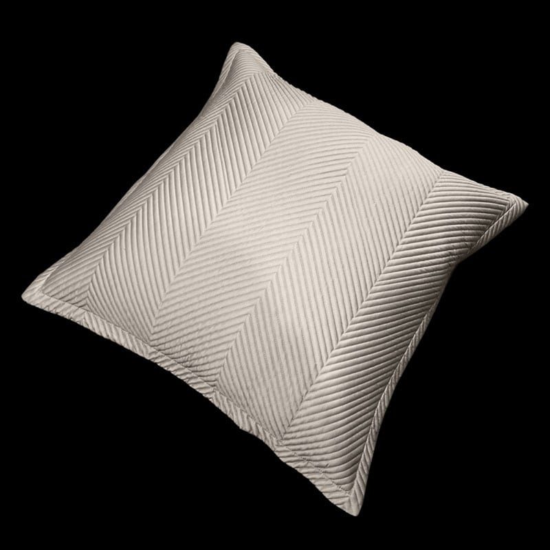 Μαξιλαροθήκη Διακοσμητική Venere Taupe Guy Laroche 60X60 100% Microsatin
