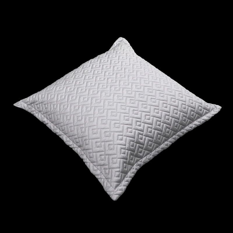 Μαξιλαροθήκη Διακοσμητική Conte Silver Guy Laroche 60X60 100% Microsatin