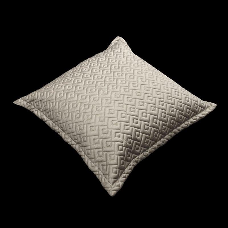 Μαξιλαροθήκη Διακοσμητική Conte Taupe Guy Laroche 60X60 100% Microsatin