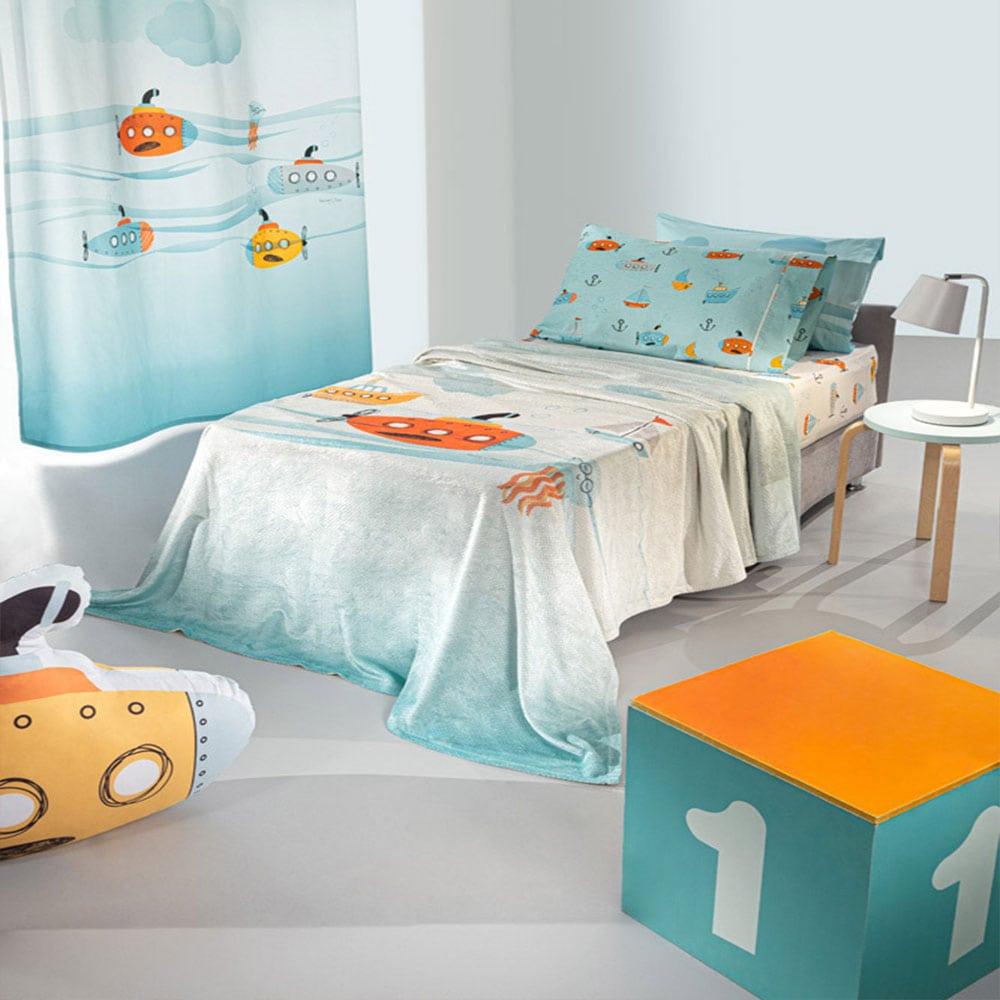Κουβέρτα Παιδική Ultrasoft Sub Multi Saint Clair Μονό