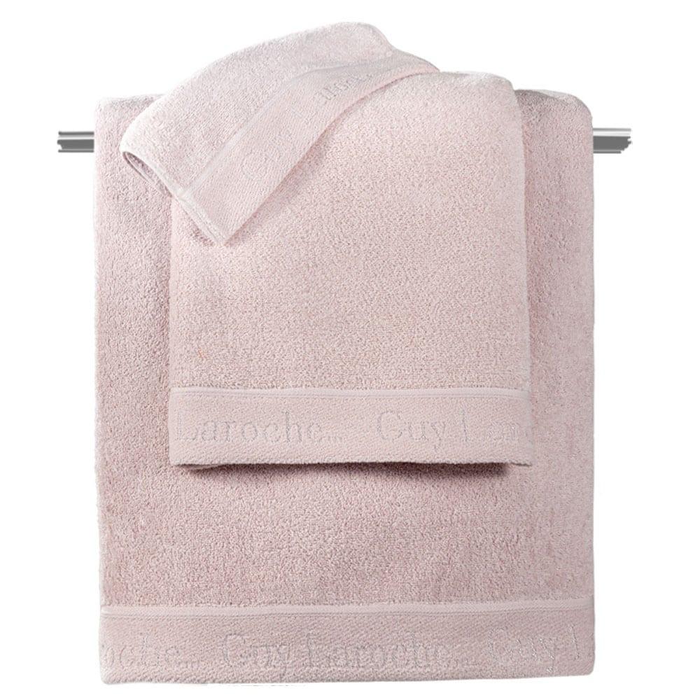 Πετσέτες Moments Σετ 3τμχ Old Pink Guy Laroche Σετ Πετσέτες