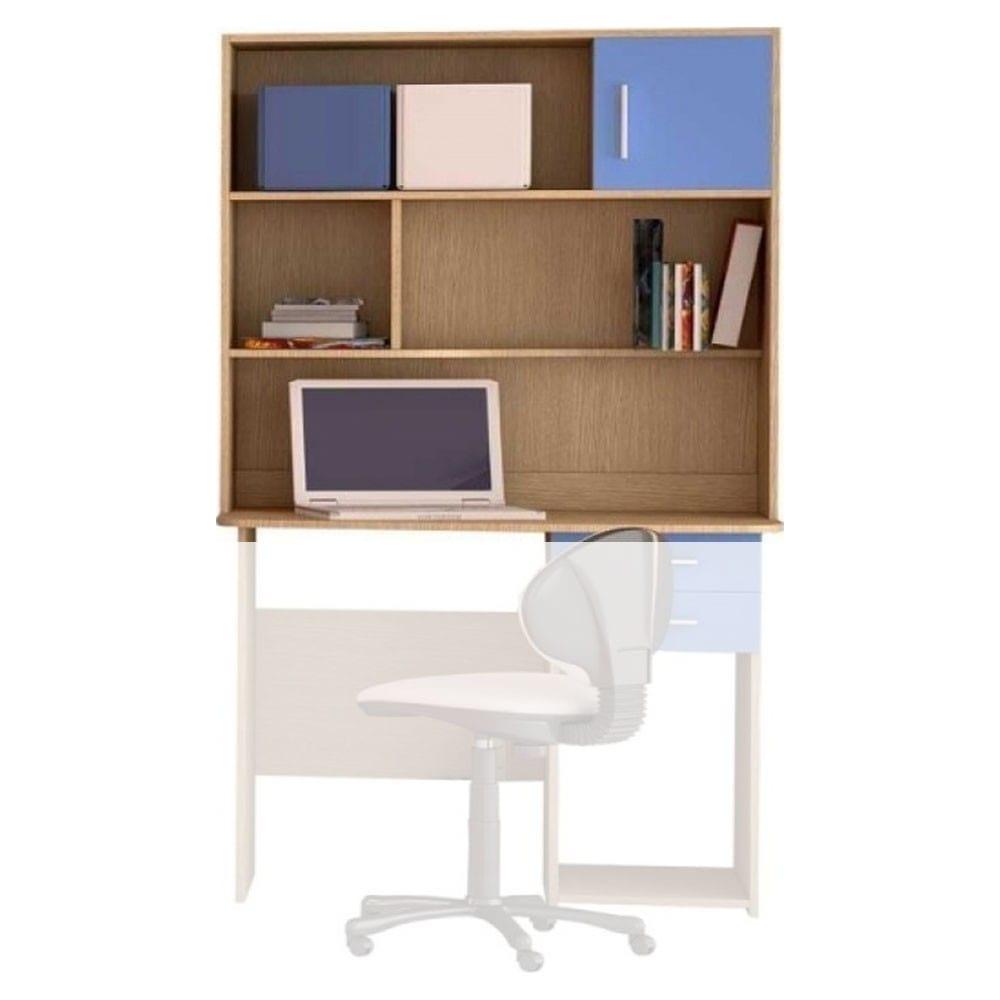 Εταζέρα Παιδική Για Γραφείο Νο. 14 100x100x30 Oak-Blue