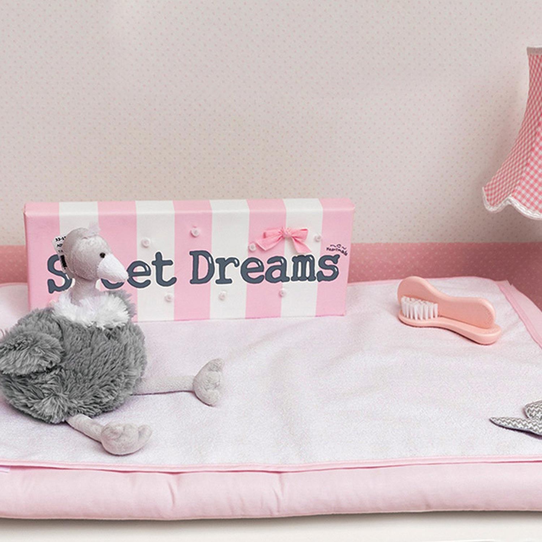 Σελτεδάκι Βρεφικό Design 84 Butterfly Pink Byblos 110x160cm
