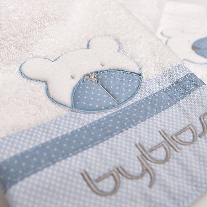 Βρεφικές Πετσέτες Σετ Design 80 Amici Blue Byblos 2τμχ Σετ Πετσέτες 30x50cm