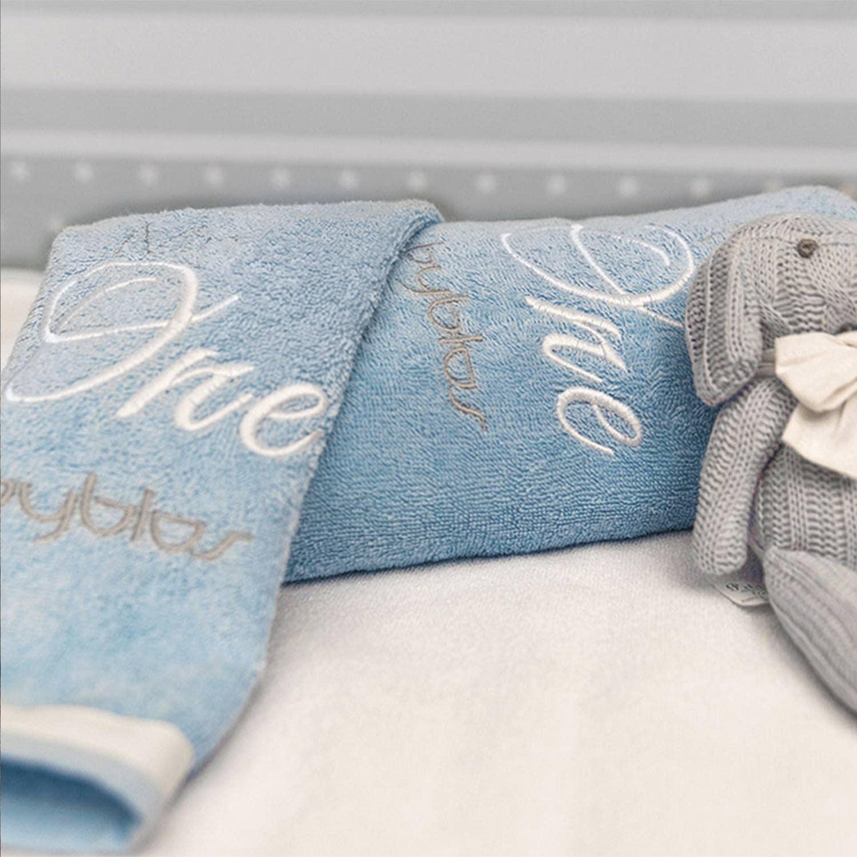 Βρεφικές Πετσέτες Σετ Design 85 One Blue Byblos 2τεμ Σετ Πετσέτες 30x50cm