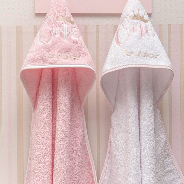 Κάπα Βρεφική Design 83 One Pink-White Byblos 0-2 ετών One Size